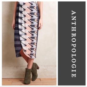 Anthro Maeve • Wrap Skirt